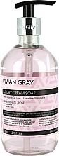 Perfumería y cosmética Jabón de manos líquido con aroma a granada y rosa - Vivian Gray Luxury Cream Soap Pomegranate & Rose
