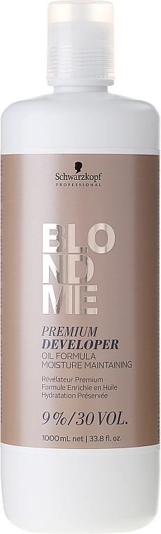 Loción activadora 9%/30 vol. - Schwarzkopf Professional Blondme Premium Developer 9%