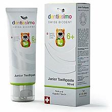 Perfumería y cosmética Pasta dental con sabor a manzana - Dentissimo Junior Toothpaste Apple