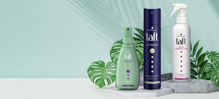 Descuento del 20% en productos promocionales de la marca Taft. Los precios indicados tienen el descuento aplicado