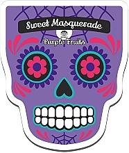 Perfumería y cosmética Mascarilla facial de tejido revitalizante a base de frutas moradas con extracto de arándano - Dr Mola Sweet Masquarade Pureple Fruits mask