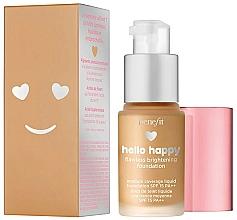 Perfumería y cosmética Base de maquillaje - Benefit Hello Happy Flawless Foundation (mini)