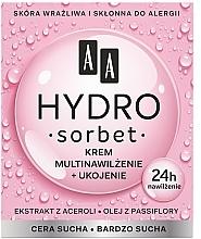 Perfumería y cosmética Crema facial con extracto de algas y plantas - AA Hydro Sorbet Moisturising & Nutrition Cream
