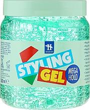 Perfumería y cosmética Gel moldeador, efecto mojado - Tenex Styling Wetlook Green Gel