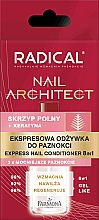 Perfumería y cosmética Fortalecedor de uñas express con queratina - Farmona Radical Nail Architect Express 8in1