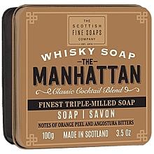Perfumería y cosmética Jabón - Scottish Fine Soaps The Manhattan Soap In A Tin