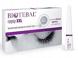 Perfumería y cosmética Sérum estimulador del crecimiento de pestañas con biotina y pantenol - Biotebal Eyelashes XXL