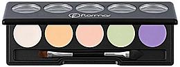 Perfumería y cosmética Paleta de correctores faciales - Flormar Camouflage Palette Concealer