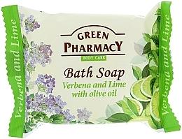 Perfumería y cosmética Jabón con extractos de verbena & lima - Green Pharmacy