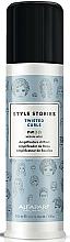 Perfumería y cosmética Crema definitoria y estilizadora para rizos de fijación media - Alfaparf Style Stories Twisted Curls Medium Hold