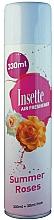 Perfumería y cosmética Ambientador con aroma a rosas de verano - Insette Air Freshener Summer Roses