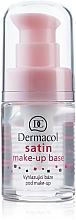 Perfumería y cosmética Prebase de maquillaje unificadora - Dermacol Satin Base Make-Up