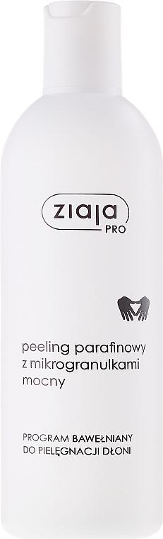 Exfoliante de manos de parafina con microgránulos y aceite de semilla de algodón - Ziaja Pro Paraffin Scrub