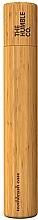 Perfumería y cosmética Caja para cepillo dental de bambú para niños - The Humble Co. Toothbrush Case Kids