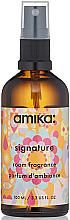 Perfumería y cosmética Ambientador spray con aroma a vainilla almizclada, limón y trébol dulce - Amika Signature Room Fragrance