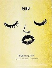 Perfumería y cosmética Mascarilla facial iluminadora y energizante con aceite de naranja y extracto de peonía - Pibu Beauty Brightening Mask