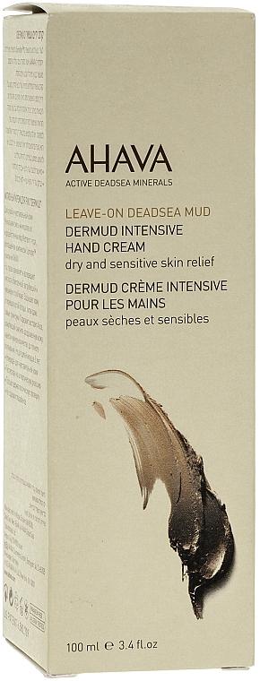 Crema de manos con barro mineral del Mar Muerto - Ahava Dermud Hang Cream Dry & Sensitive Relief — imagen N2