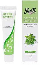 Perfumería y cosmética Pasta dental blanqueadora con sabor a menta - Keeth Mint-flavoured Whitening Toothpaste