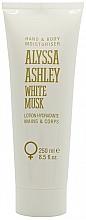 Perfumería y cosmética Alyssa Ashley White Musk - Loción para manos y cuerpo con aroma floral