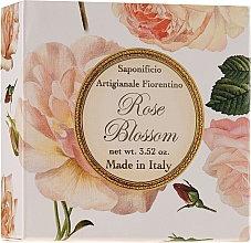 Perfumería y cosmética Jabón natural artesano con aroma a rosa - Saponificio Artigianale Fiorentino Rose Blossom Soap