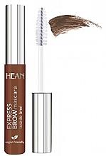 Perfumería y cosmética Máscara de cejas - Hean Express Brown Mascara