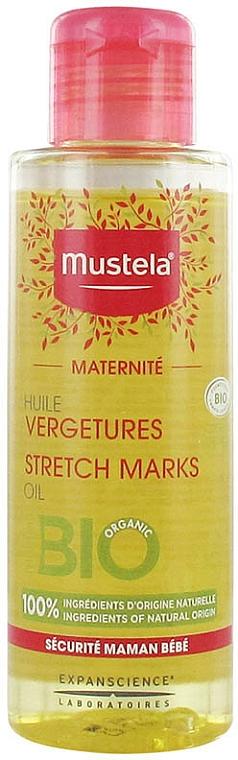 Aceite corporal bio orgánico sin aromas - Mustela Maternity Stretch Marks Oil Fragrance-Free