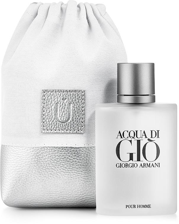 Bolso cosmético, blanco (15x10x6cm) - MakeUp Perfume Dress (vacío)