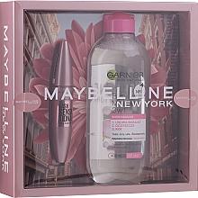 Perfumería y cosmética Set - Maybelline New York (máscara/9.5ml + agua micelar/400ml)