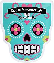 Perfumería y cosmética Mascarilla facial de tejido antioxidante con extractos de guayaba y limón - Dr Mola Sweet Masquarade Green Fruits mask