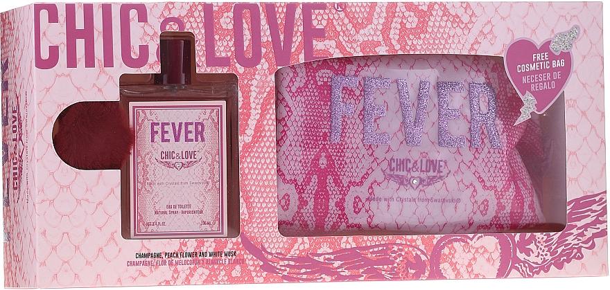Chic&Love Fever - Set (eau de toilette/100ml + neceser)