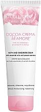 Perfumería y cosmética Crema de ducha hidratante con aceites esenciales y extracto de pétalos - Collistar Doccia Crema Dell' Amore