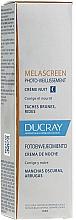 Perfumería y cosmética Crema de noche antienvejecimiento con aceite de soja - Ducray Melascreen Night Cream