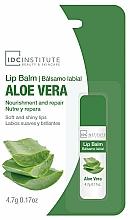 Perfumería y cosmética Bálsamo labial con aloe vera - IDC Institute Lip Balm Aloe Vera