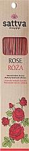 Perfumería y cosmética Varitas de incienso con aroma a rosa - Sattva Rose