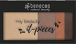 Perfumería y cosmética Recarga de paleta de maquillaje(polvo compacto/1+polvo contorno/1+polvo sombra de ojos/2) - Benecos It-Pieces Freaking Hot Palette Refill