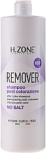 Perfumería y cosmética Champú post coloración con aceite de argán - H.Zone Post Colorazione Remover