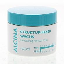 Perfumería y cosmética Cera texturizadora para cabello - Alcina Natural Struktur Faser Wachs