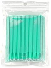 Perfumería y cosmética Micro cepillos para extensión y eliminación de pestañas, azul turquesa - Novalia Group