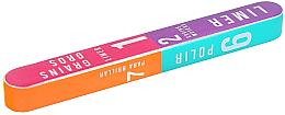 Perfumería y cosmética Bloque de pulido para uñas de 7 vías 178x22x16mm - Tools For Beauty 7-way Nail Buffer Block