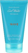 Perfumería y cosmética Davidoff Cool Water Wave Woman - Gel de ducha perfumado