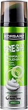 Perfumería y cosmética Espuma de afeitar con D-pantenol - Pharma CF Korsarz Fresh Shaving Foam