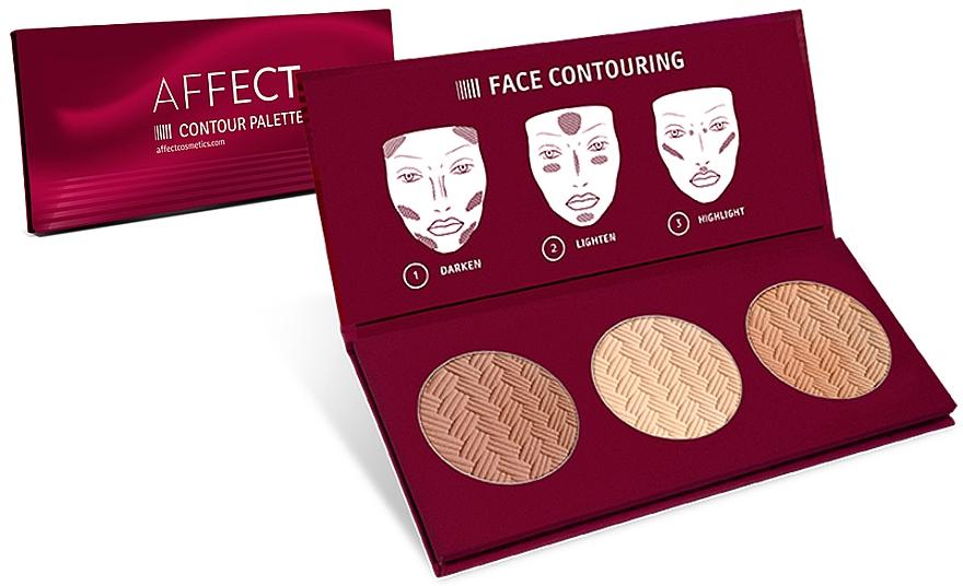 Paleta para contorno facial - Affect Cosmetics Contour Palette — imagen N1