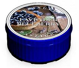 Perfumería y cosmética Vela de té aromática, lavanda y arándano - Kringle Candle Daylight Lavender Blueberry