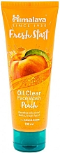 Perfumería y cosmética Gel limpiador facial con melocotón - Himalaya Herbals Fresh Start Oil Clear Face Wash