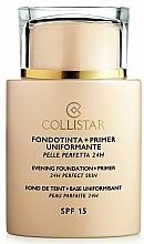 Perfumería y cosmética Prebase de maquillaje - Collistar Foundation Primer Perfect Skin Smoothing 24H SPF15