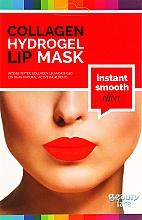 Perfumería y cosmética Mascarilla para labios de hidrogel con colágeno, ácido hialurónico, aceite de rosa natural y extracto de regaliz - Beauty Face Wrinkle Smooth Effect Collagen Hydrogel Lip Mask