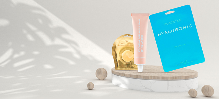 Llévate una mascarilla facial de regalo por la compra de productos Kocostar superior a 12 €