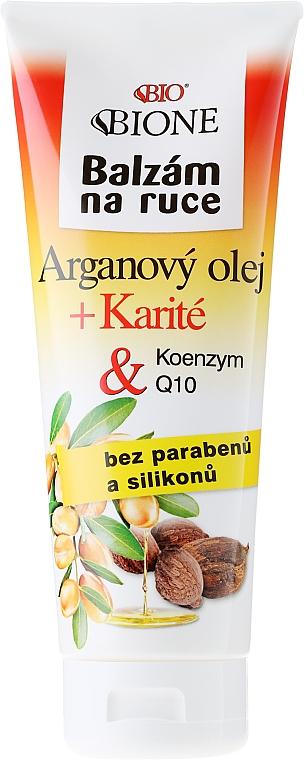 Bálsamo para manos con aceite de argán - Bione Cosmetics Argan Oil Hand Ointment