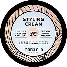 Perfumería y cosmética Crema moldeadora de cabello de fijación fuerte sin parabenos ni sulfatos - Maria Nila Styling Cream