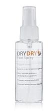 Perfumería y cosmética Spray para pies con mentol - Excelsior Dry Dry Foot Spray